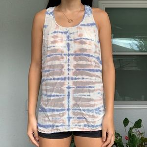 Cynthia rowley 100% silk tank top